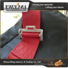 Red / black straps for chair webbing
