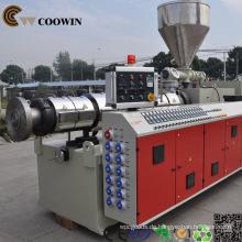 PP / PE / PVC-Holz-Plastik WPC-Profil-Fertigungsstraße / PVC-Verdrängungs-Maschine