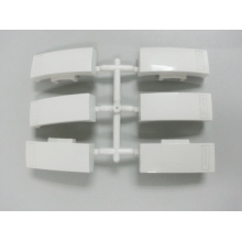 Molde de botón de enchufe de plástico para interruptor de pared