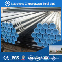 ASTM A53 Gr.B seamless steel pipe with black varnished