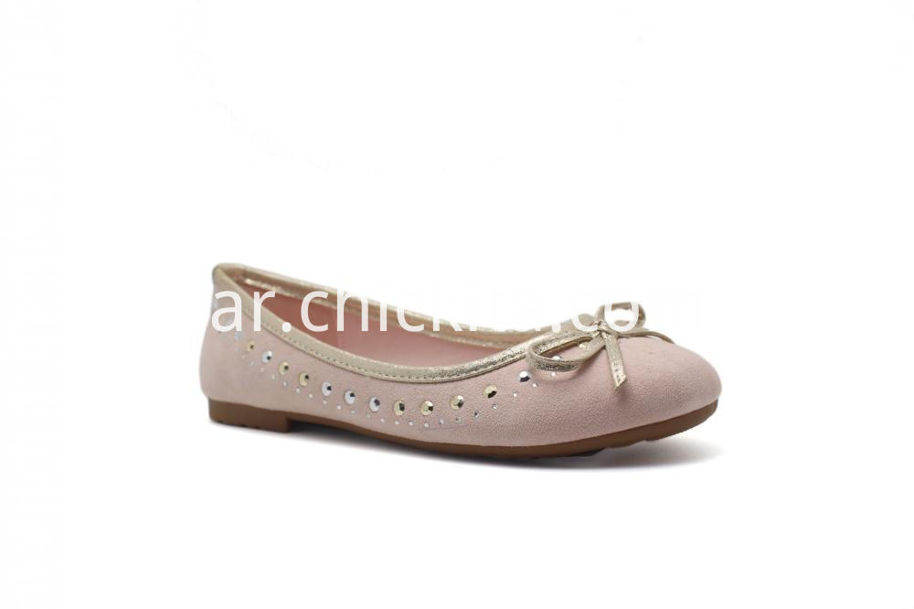 Heat Seal With Bowknot Ballerinas shoe