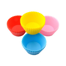Durable baking mold silicone muffin cup heat-resistant, non-sticky, easy to clean and safe food-grade silicone cake mold