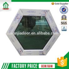 panneau fixe pvc avec fenêtre en verre trempé panneau fixe pvc avec fenêtre en verre trempé