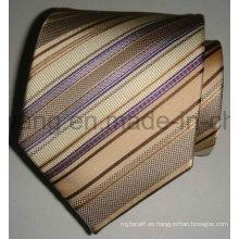 Corbata tejida de seda del telar jacquar de los hombres vendedores calientes