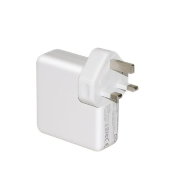 Adaptador de corrente alternada tipo c de 61w para macbook