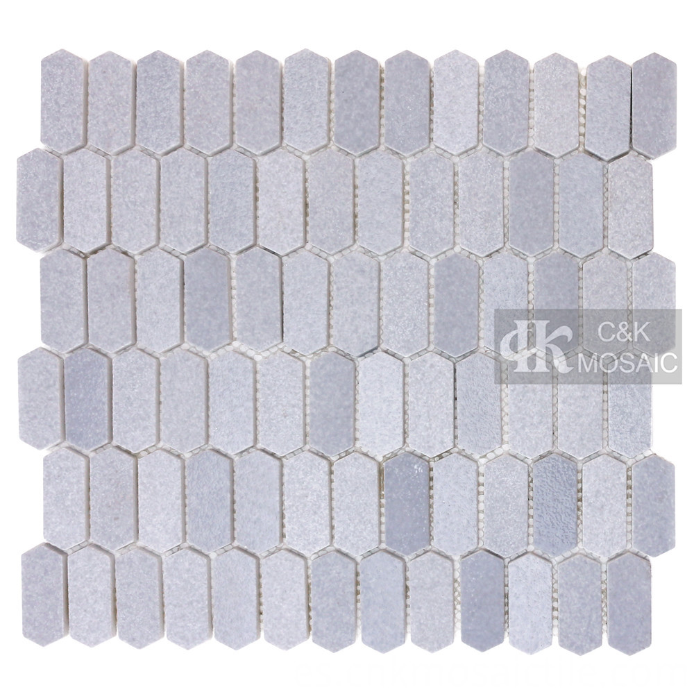 Light Gray Glass Mosaic