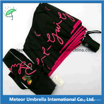 3 Fold Auto Open and Close Promtion Gift Umbrellas