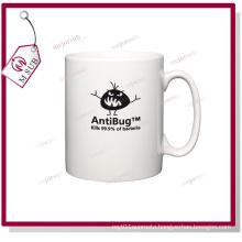 10oz White Ceramic Sublimation Orca Coatings Durham Mug