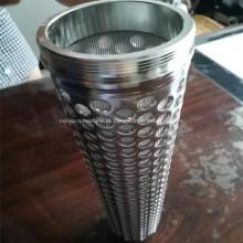Filtros de metal de malha de arame sinterizado de aço inoxidável