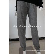 Sharrefun Loungewear 12gg gestrickte Frauen reine Kaschmir-Bloomers