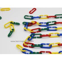 Apprentissage en plastique Chaîne de liens plastiques pour enfants Jeu