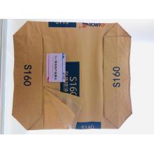 2 + 1-couche sac d'emballage en plastique de ciment en papier