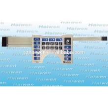 Poliéster em relevo metal snap dome Medical Equipment Membrana Switch