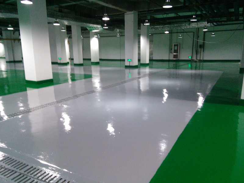 Non Slip High Hardness Epoxy Mortar Floor Paint