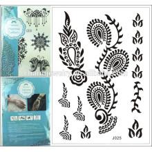 Beaucoup de tatouage tatouage tatouage temporaire tatouage tatouage vente j025