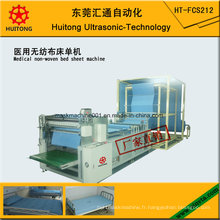 Machine jetable médicale ultrasonique de feuille de lit