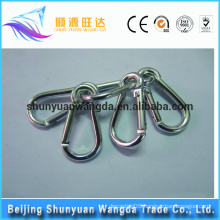 Alibaba top promotion Safe custom round stainless steel carabiner