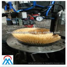 máquina de fabricación de cepillo de plato redondo de proveedor de máquina chino