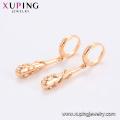 96579 xuping nova chegada de moda especial de design 18k cor de ouro das mulheres brincos