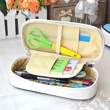 Wholesales Custom Fancy Promotional Kids PU Leather Pencil Case