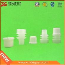 Customise Laundry Detergent Spout with Cap Assembled