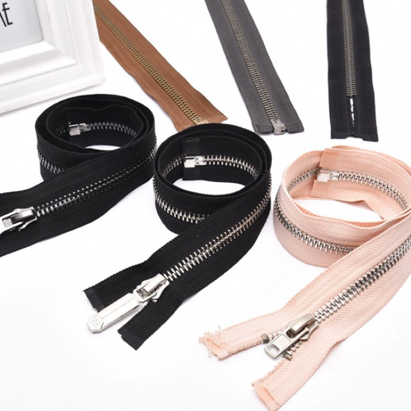 Zippers for purses