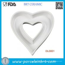 Home Decotation Herzform Keramikschale