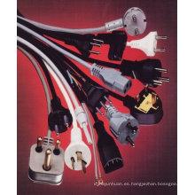 Cable de alimentación para cable de alimentación de la tabla de planchar para tabla de planchar, zócalo de hierro, hierro junta potencia cable hierro hierro toma para el cable con la antena