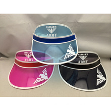 custom design fashion colorful summer sun visor
