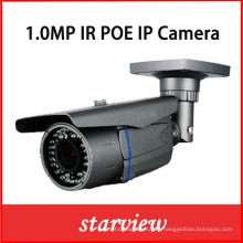 1.0MP Poe impermeable IR Bullet red CCTV seguridad IP cámara (WH1)
