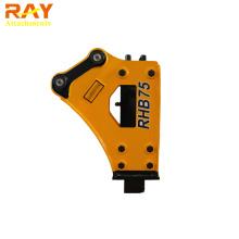 Side Type Hydraulic Rock Breaker 75mm Power Hammer