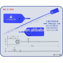 plastic seal BG-S-002 for security use