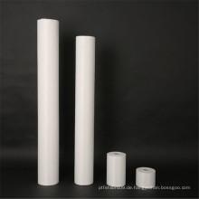 Weiße, recycelte, stichgebundene Stoffe