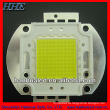 bridgelux 45 mil 100 w led, LED 100W con alto lumen, CE y RoHs aprobados