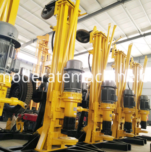 KQZ180D water well drilling rig 4