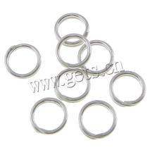 Gets.com 925 sterling silver split key chains key rings
