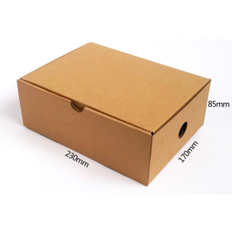 Eco-friendly corrugated elegant paper mailing box