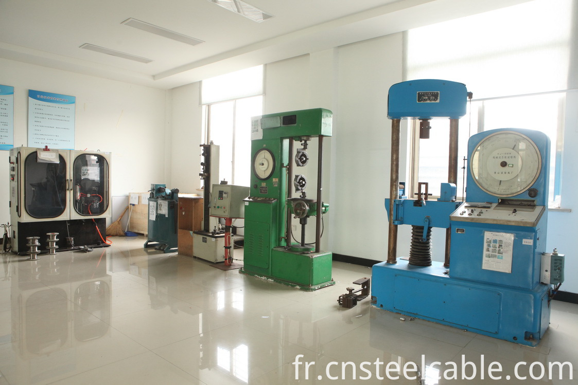 steel wire rope lab