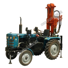 Cheap borehole water well drilling rig tractor mounted drilling rig with air compressor
