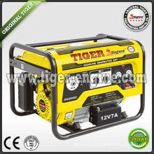 Tiger key start 2.5kw 6.5hp gasoline generator