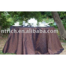 Table covers,chameleon pintuck tablecloth,hotel/party table linen