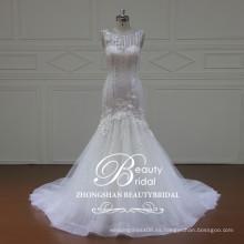 XF16065 alta calidad sirena vestido de novia vestido de novia para las mujeres