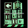 signo de dirección reflectante