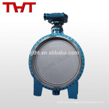 Double eccentric epdm seat butterfly valve with reducer