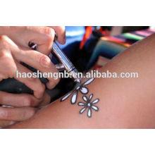 Estêncil de tatuagem temporário reutilizável