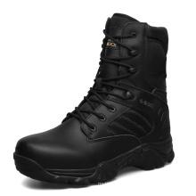 Bottes militaires en cuir véritable de haute qualité et bottes tactiques de police (31002)