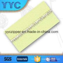 #4 Corn Teeth Wholesale Metal Zipper Long Chain for Garment