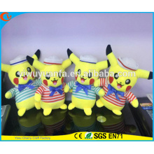 Pokemon de alta calidad de venta caliente ir juguetes de peluche de dibujos animados Marina Pikachu Doll Monstruos de bolsillo
