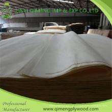 Preço barato um verniz branqueado do álamo da categoria de Linyi
