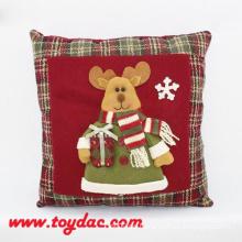 Weiches Weihnachtsdekorations-Kissen